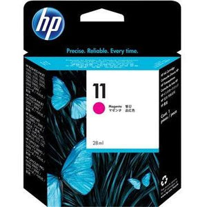 HP #11 Magenta Ink Cartridge (29ml) - 1,830 pages-Blueprint Toners
