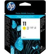 HP #11 Yellow Ink Cartridge (29ml) - 1,830 pages-Blueprint Toners