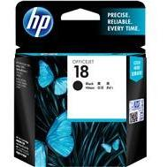 HP #18 Black Ink Cartridge - 850 pages-Blueprint Toners