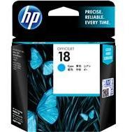 HP #18 Cyan Ink Cartridge - 900 pages-Blueprint Toners
