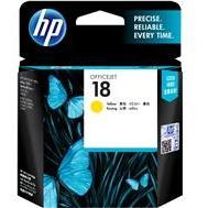 HP #18 Yellow Ink Cartridge - 900 pages-Blueprint Toners