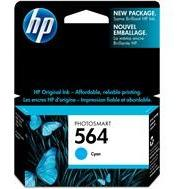 HP #564 Cyan Ink Cartridge - 300 pages-Blueprint Toners