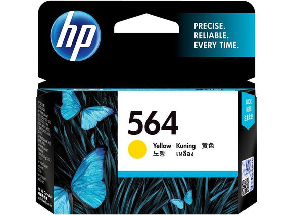 HP #564 Yellow Ink Cartridge - 300 pages-Blueprint Toners