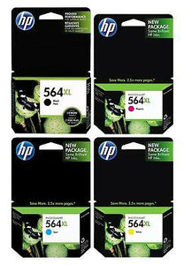 HP #564XL Cyan Ink Cartridge - 750 pages-Blueprint Toners