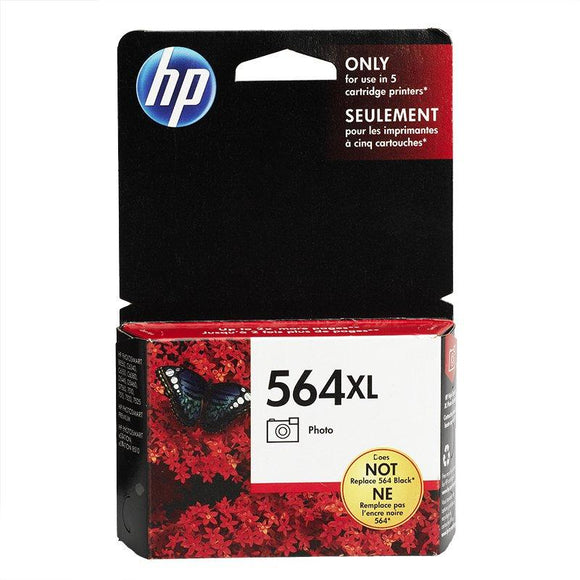 HP #564XL Photo Black Ink Cartridge - 290 pages of 4 x 6-Blueprint Toners