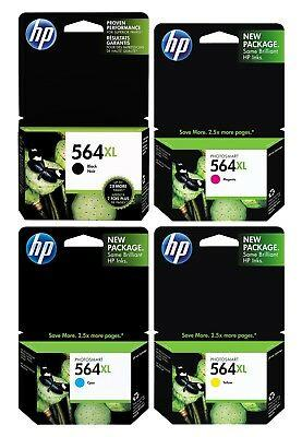 HP #564XL Yellow Ink Cartridge - 750 pages-Blueprint Toners