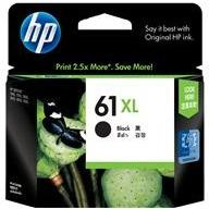 HP #61 Black XL ink Cartridge - 480 pages-Blueprint Toners