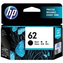HP #62 Black Ink Cartridge - 200 Pages-Blueprint Toners