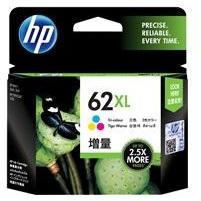HP #62XL Tri Col Ink Cartridge - 415 pages-Blueprint Toners