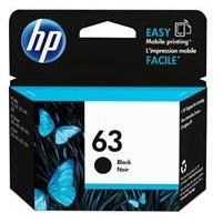 HP #63 Black Ink - 190 pages-Blueprint Toners