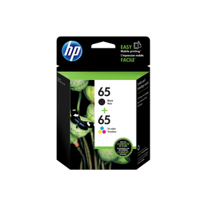 HP #65 Black & Colour Ink Pack-Blueprint Toners