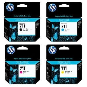 HP #711 29ml Magenta Ink Cartridge 3 Pk -Blueprint Toners