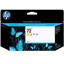 HP #72 Yellow Ink Cartridge-Blueprint Toners