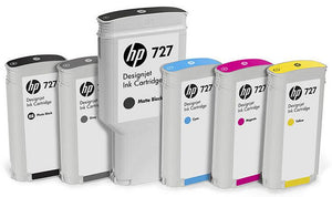 HP #727 130ml Grey Ink Cartridge -Blueprint Toners