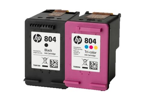 HP #804 Black Ink Cartridge - 200 pages-Blueprint Toners