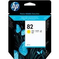 HP #82 Yellow Ink Cartridge - 3,200 pages-Blueprint Toners
