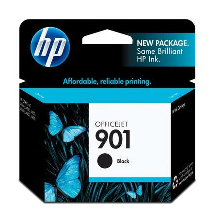 HP #901 Black Ink Cartridge - 200 pages-Blueprint Toners