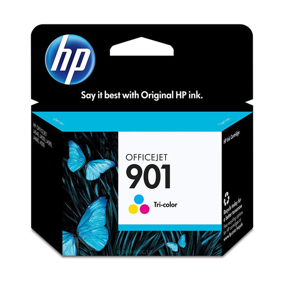 HP #901 Colour Ink Cartridge - 360 pages-Blueprint Toners