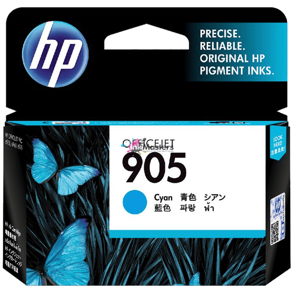 HP #905XL Cyan Ink Cartridge - 825 pages-Blueprint Toners