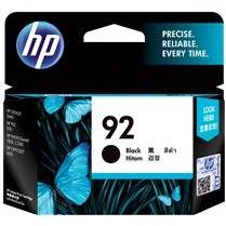 HP #92 Black Ink Cartridge - 210 pages-Blueprint Toners