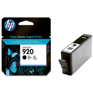 HP #920 Black Ink Cartridge - 420 pages-Blueprint Toners
