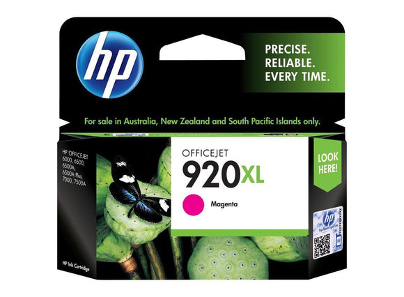 HP #920XL Magenta High Yield Ink Cartridge - 700 pages-Blueprint Toners