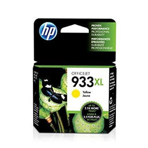 HP #933XL Yellow High Yield Ink Cartridge-Blueprint Toners