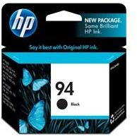 HP #94 Black Ink Cartridge - 11ml - 450 pages-Blueprint Toners