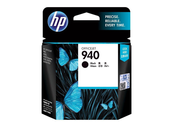 HP #940 Black Ink Cartridge - 1,000 pages-Blueprint Toners