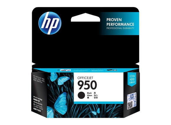 HP #950 Black Ink Cartridge - 1,000 pages-Blueprint Toners