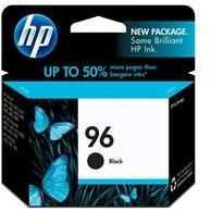 HP #96 Black Ink Cartridge - 21ml - 800 pages-Blueprint Toners