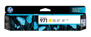 HP #971 Yellow Ink Cartridge - 2,500 pages-Blueprint Toners