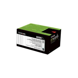 Lexmark 808K Black Toner - 1,000 pages-Blueprint Toners