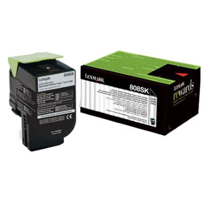 Lexmark 808SK Std Black Toner - 2,500 pages-Blueprint Toners