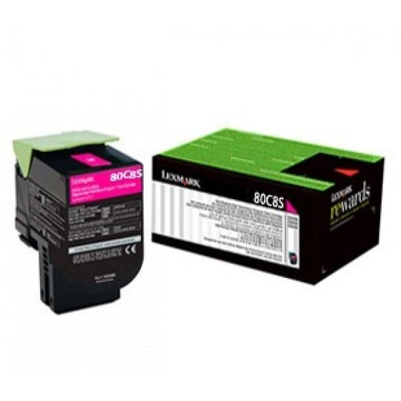 Lexmark 808SM Std Magenta Toner - 2,000 pages-Blueprint Toners