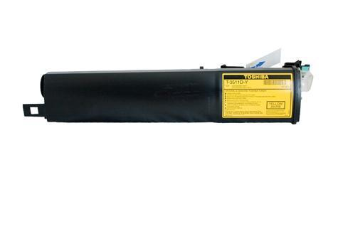 Toshiba E-Studio 281C / 351C / 451C / T3511 / T4511 Yellow Toner - 10,000 pages-Blueprint Toners