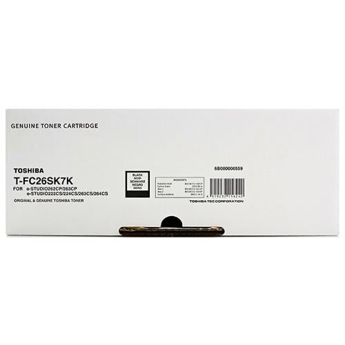 Toshiba E-Studio TFC26SK Black Toner - 5,000 pages-Blueprint Toners