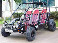 New 300cc - Trailmaster 300-XRS4 - 4 Seater Go Kart w/Reverse - CA Carb Approved - Free Shipping go kart Wholesale ATV