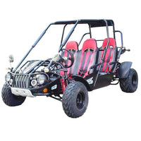 New 300cc - Trailmaster 300-XRS4 - 4 Seater Go Kart w/Reverse - CA Carb Approved - Free Shipping go kart Wholesale ATV red