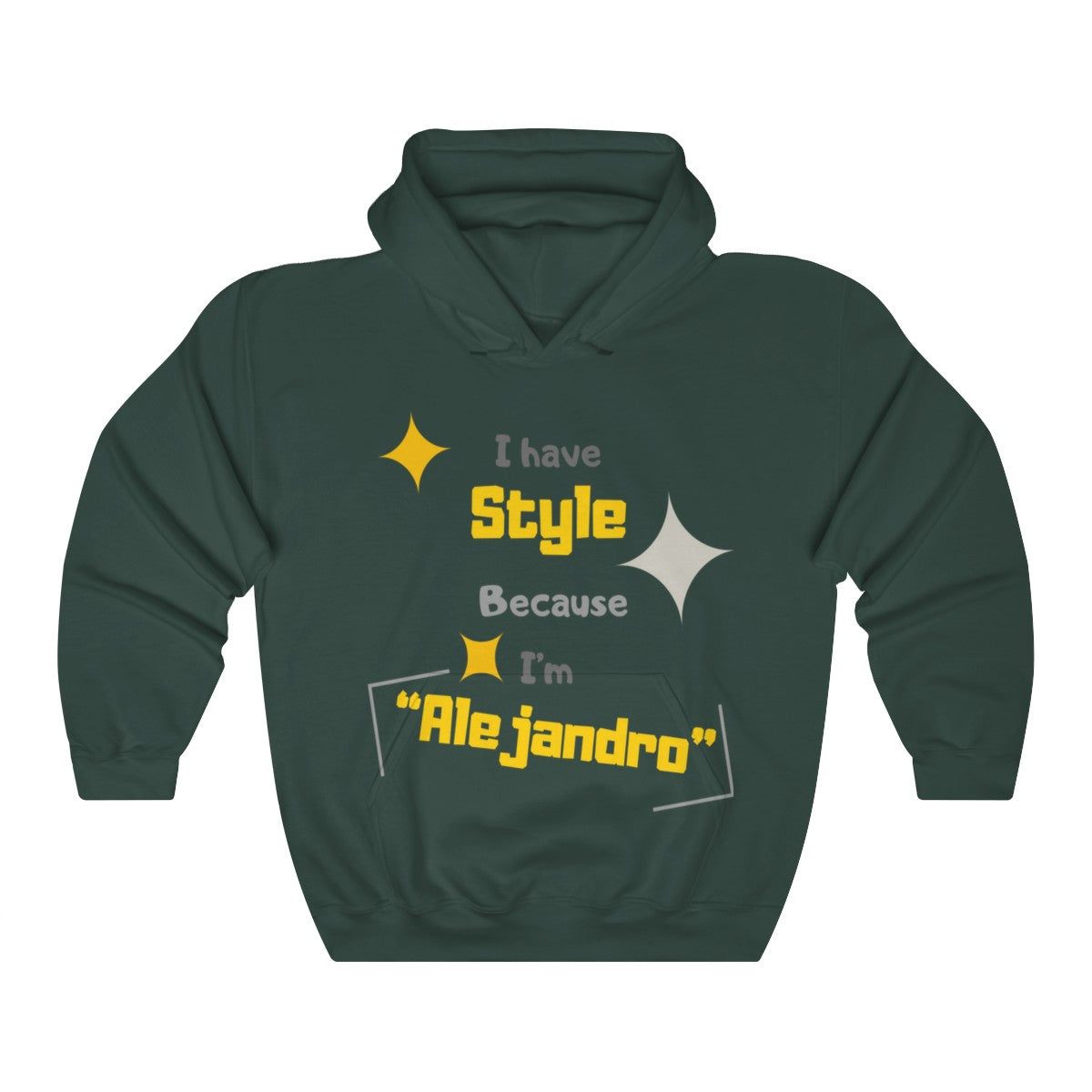 Men Heavy Blend™ Hooded Sweatshirt