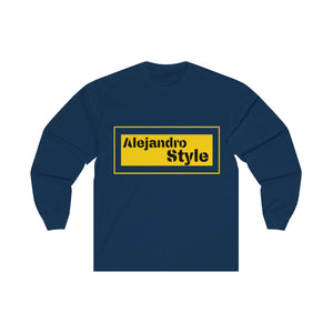 Men Long Sleeve Tee