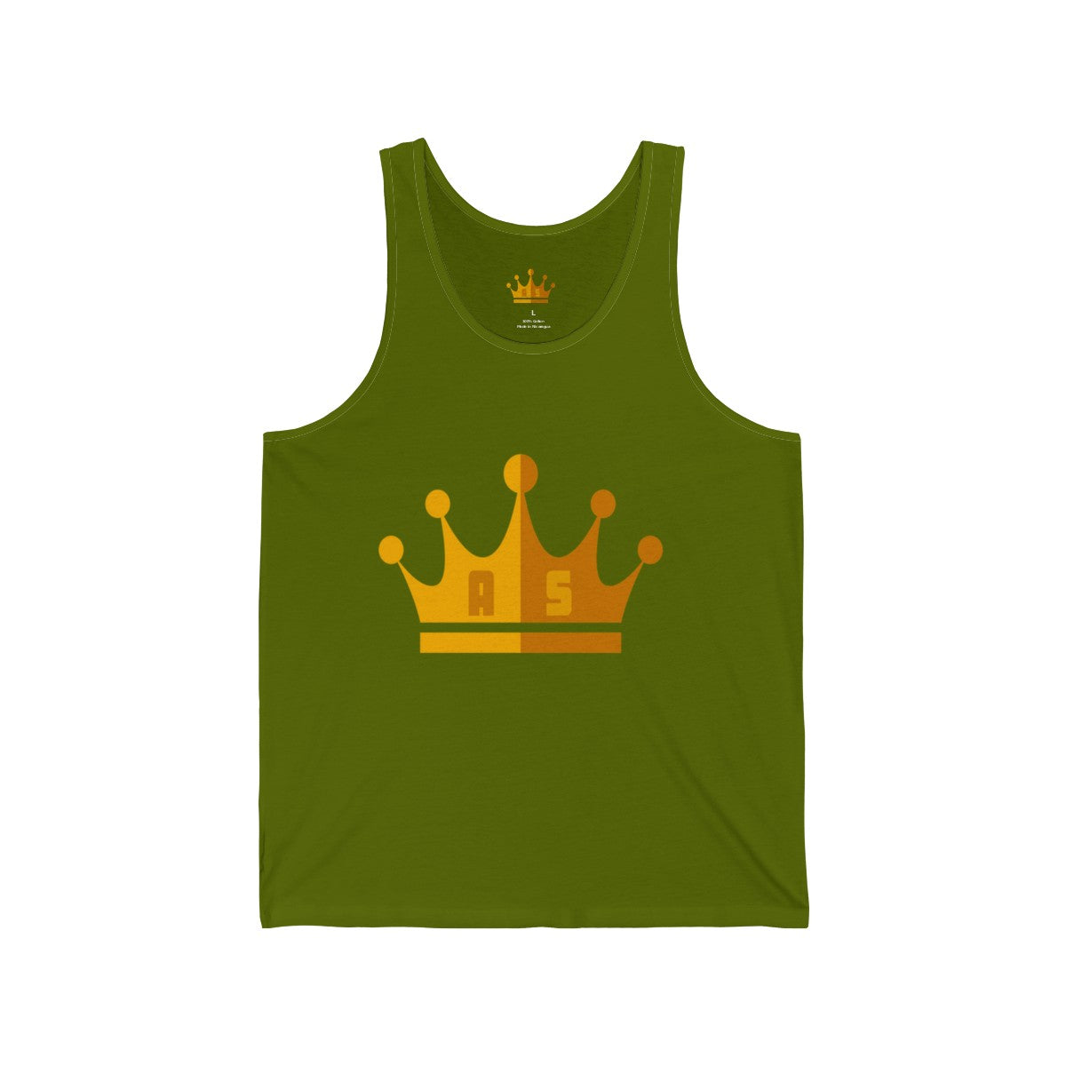 Men Crown Jersey Tank