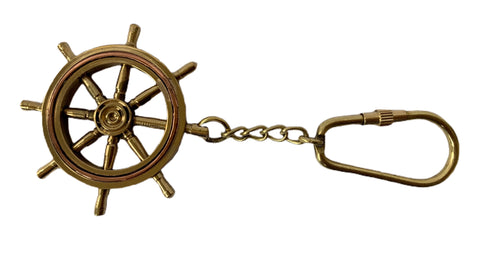 Nautical Wheel Keyring