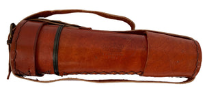 Telescope with Leather sleeve