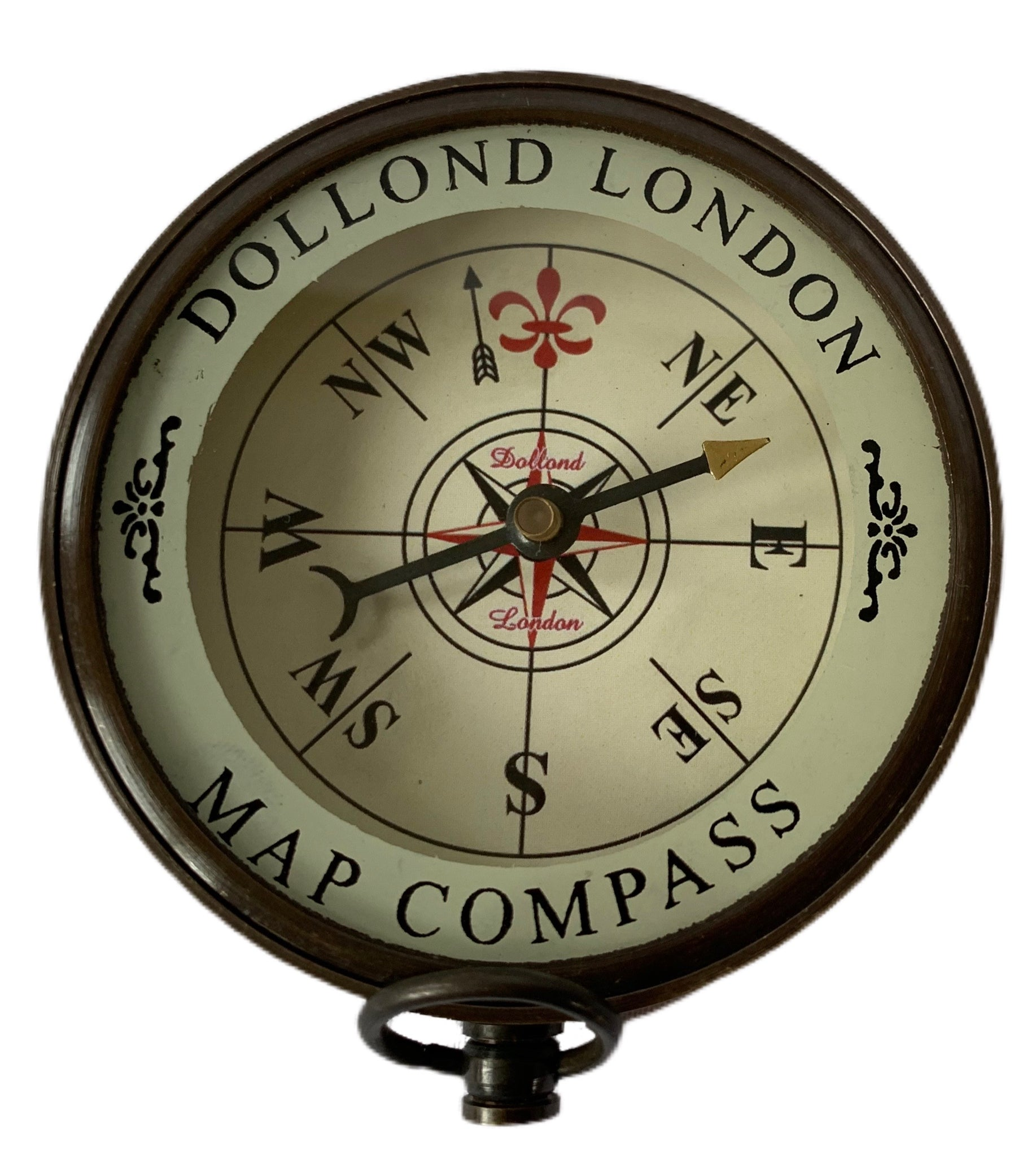 Dollond London Map compass