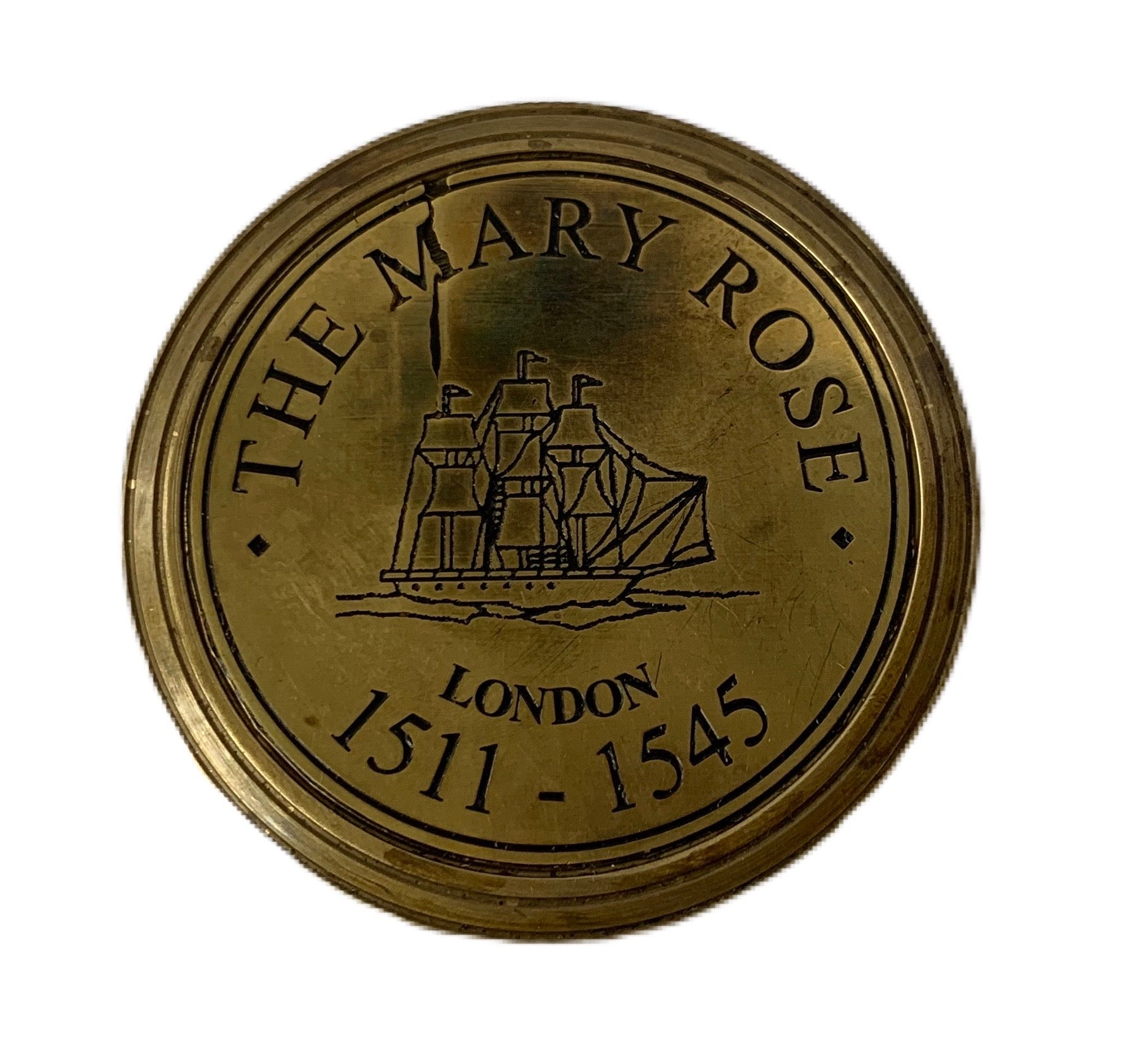 Small Mary Rose Sundial Compass