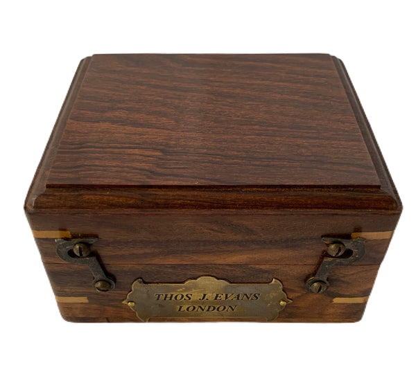 1KG Heavy Brunton compass with rose wood box