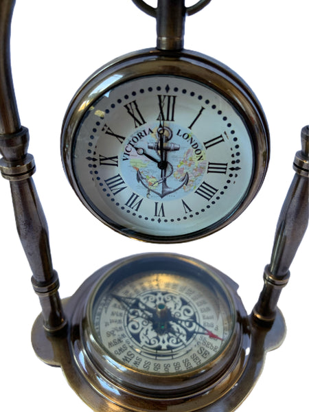 Copy of Arch compass clock - Blue
