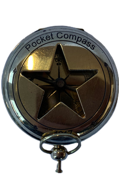 Star open face compass