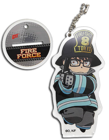 FIRE FORCE - SD TAKEHISA HINAWA ACRYLIC KEYCHAIN